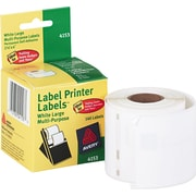 "Avery(R) Shipping Labels for Dymo(R) and Seiko(R) Printers 04153, 2-1/8"" x 4"", Roll of 140"