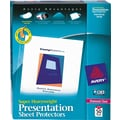 Avery Super Heavyweight Presentation Sheet Protectors