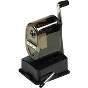 X-Acto Bulldog Manual Vacuum-Mount Pencil Sharpener, Smoke Gray