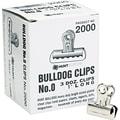 X-ACTO® Bulldog® Metal Clips, 1in. Width, 36 Clips per Box