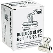 "X-ACTO® Bulldog® Metal Clips, 1"" Width, 36 Clips per Box"