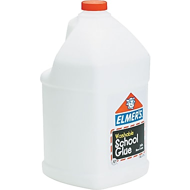 Elmer's Washable School Glue, White, 1 Gallon
