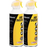 Fellowes ® Pressurized Gas Duster, 10 oz. Can, 2/Pack