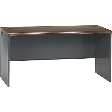 HON 38000 Series 60in. Credenza Shell, Mahogany/Charcoal