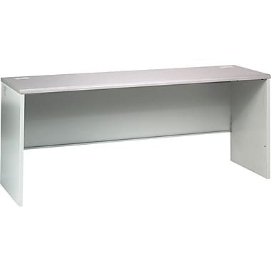 HON 38000 Series 72in. Credenza Shell, Gray Patterned/Light Gray