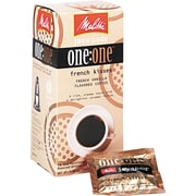Melitta® One:One Coffee Pods, Parisian Vanilla, 0.3 oz, 18/Box (55437-75001)
