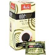 Melitta® One:One Coffee Pods, Breakfast Blend Decaf, 0.3 oz, 18/Box (55437-75003)