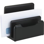 Rolodex Wood Tones Desktop Sorter, Black (62525)
