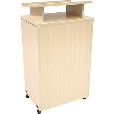 Regency Legacy Floor Lectern, Maple