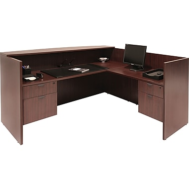 Regency Legacy Reception Desk, Mahogany