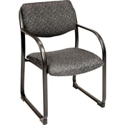 Regency Legacy Gray Fabric Reception Chair