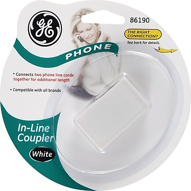 GE In-Line Coupler (White)