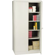 Tennsco Standard Storage Cabinet, 72H x 36W x 24D, Light Gray