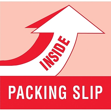 Tape Logic Packing Slip Inside Staples® Shipping Label, 2in. x 6in., 500/Roll