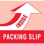 Tape Logic Packing Slip Inside Staples® Shipping Label, 2 x 6, 500/Roll