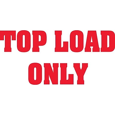 Tape Logic Staples® Top Load Only Shipping Label, 3in. x 5in., 500/Roll