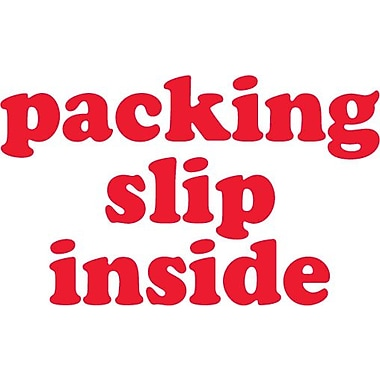 Tape Logic Packing List Inside Staples® Shipping Label, 3in. x 5in.