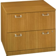 Bush Quantum 36W 2Drw Lateral File, Modern Cherry, Installed