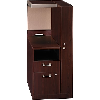 Bush Business Furniture Quantum RH Storage Tower, Harvest Cherry (QT2826ACSK)