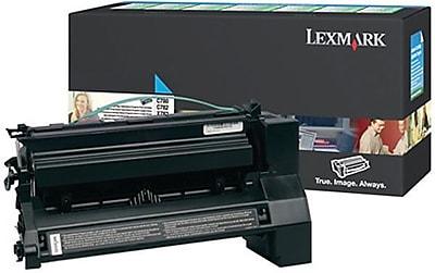 Lexmark Cyan Toner Cartridge C782X1CG Extra High Yield Return Program