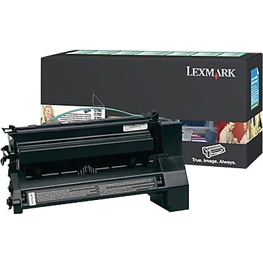 Lexmark C782X1KG Black Return Program Toner Cartridge, Extra High Yield