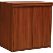 "Ameriwood Industries Tiverton 30-3/8"" Two-Door Storage Cabinet, Expert Plum (9702083ST)"