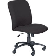 Safco Uber™ Big and Tall Fabric High-Back Managers Chair, Black