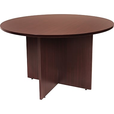 Regency Legacy 42in. Round Conference Table, Mahogany