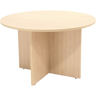Regency Legacy 47in. Round Conference Table, Maple