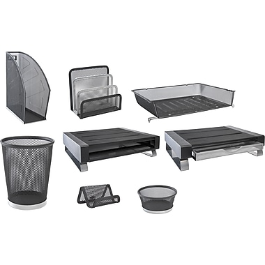Rolodex® Two Tone Wire Mesh Desk Collection