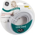 GE 25' Line Phone Cord (White)
