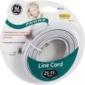 GE 25' Line Phone Cord (White)