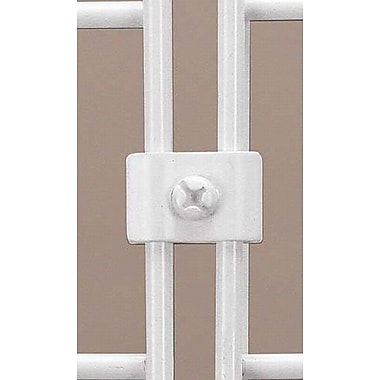 Gridwall Butterfly Connector, White