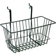 "Slatwall/Gridwall Wire Baskets, 12""W x 6 ""D x 6 ""H"