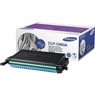 Samsung® Cyan Toner Cartridge (CLP-C660A)