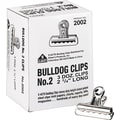 X-ACTO® Bulldog® Clips, 1/2in. Capacity, 2 1/4in. Wide, 36/Bx