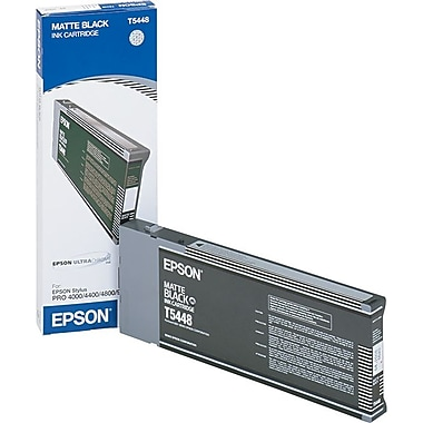 Epson T544 Matte Black UltraChrome Ink Cartridge (T544800)