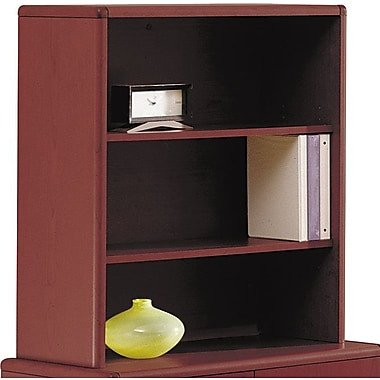 HON 10700 Series Bookcase Hutch, Mahogany