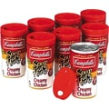 Campbells® Microwaveable Soup at Hand, 8 Cans/Box