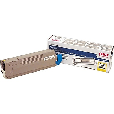 OKI 43487733 Yellow Toner Cartridge