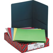 "Smead Pocket Portfolios, Assorted Colors, Letter,  Size, 8 1/2"" x 11"""