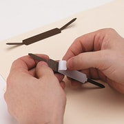 """Universal Self-Adhesive Paper and File Fasteners, 1"""" Capacity, 100/Bx (UNV81003)"""