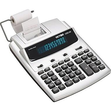 Victor® - Calculatrice imprimante commerciale robuste 12253A à 12 chiffres