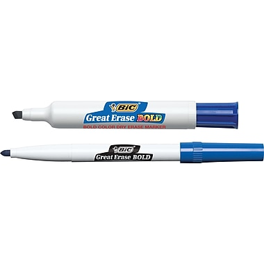 BIC® Great Erase® BOLD Dry-Erase Markers