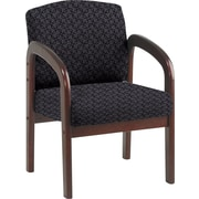 Office Star WD383-217 Guest Chair, Ash/Mahogany