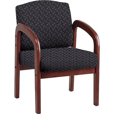 Office Star Custom Cherry Wood Visitor's Chair, Ash