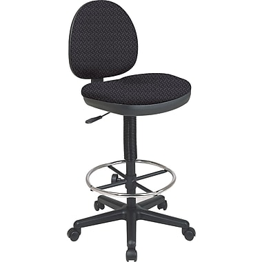Office Star Custom Drafting Chair, Ash