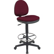 Office Star Custom Drafting Chair, Inferno