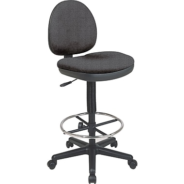 Office Star Custom Drafting Chair, Shale