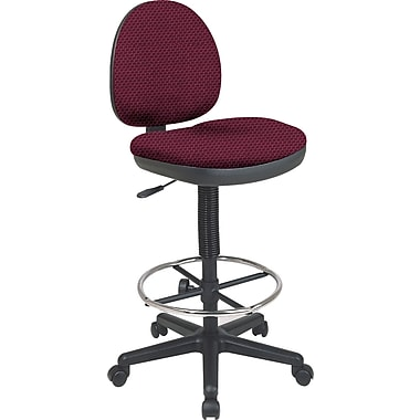 Office Star Custom Drafting Chair, Ruby